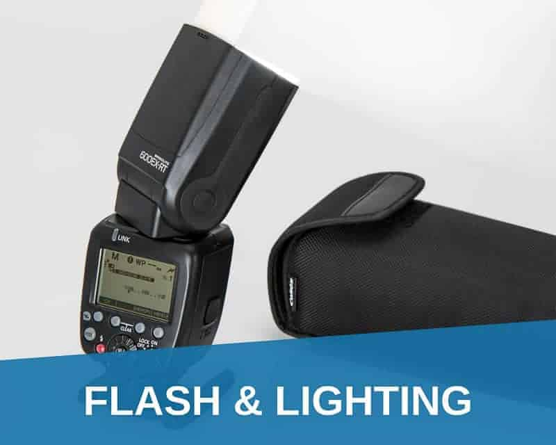 Flash and lighting equipment